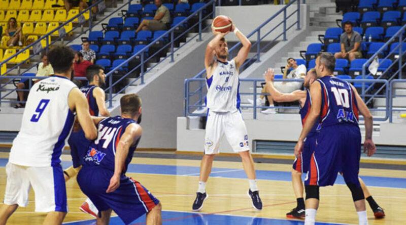 Τρίτος ο ΓΣ Ελευθερούπολης, κέρδισε τη Καρδίτσα με 55-65