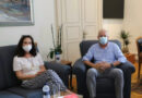 Συνάντηση δημάρχου Καβάλας Θ. Μουριάδη με την Άννα Διαμαντοπούλου